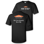 Franchise Personalized SERVPRO Here to Help T-Shirt- 48 pc Minimum