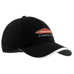 Personalized Nike Preforated Black Cap