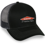 Personalized MESH BACK CAP - BLACK