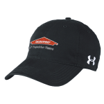 Personalized Under Armour Black Chino Cap