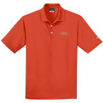 Personalized Nike Micro Pique Orange Polo