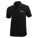 Women's Personalized Black Core 365 Polo