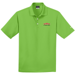 Personalized Nike Micro Pique Action Green Polo