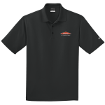Personalized Nike Micro Pique Black Polo