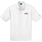 Personalized Nike Micro Pique White Polo