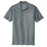 Personalized Nike Cool Grey Crosshatch Polo