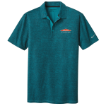 Personalized Nike Blustery Crosshatch Polo