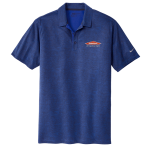 Personalized Nike Old Royal Crosshatch Polo