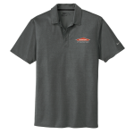 Personalized Nike Anthracite Crosshatch Polo