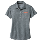 Women's Personalized Nike Cool Grey Crosshatch Polo