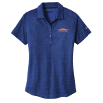 Women's Personalized Nike Old Royal Crosshatch Polo