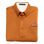 Personalized TX Orange Short Sleeve EZ Care Shirt
