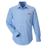Personalized French Blue Glen Plaid Shirt