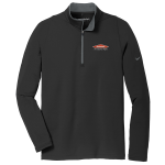 Personalized Nike Stretch Black Dary Grey 1/2 Zip