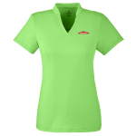 Ladies Spyder Stripe Boundary Polo Lime
