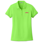 SERVPRO® Women's Lime Cotton/Poly Pique Polo