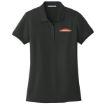 SERVPRO® Women's Black Cotton/Poly Pique Polo
