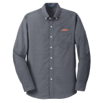 Men's L/S Superpro Oxford Shirt - Black