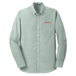 Men's L/S Superpro Oxford Shirt - Green