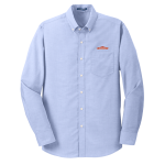 Men's L/S Superpro Oxford Shirt - Blue Oxford