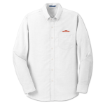 Men's L/S Superpro Oxford Shirt - White