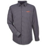 Men's L/S Crownlux Tonal Mini Check Shirt - Carbon
