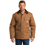 CARHARTT Duck Traditional Coat - Brown
