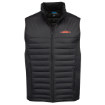 Men's Black Quilted Puffer Vest