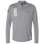 Servpro/PGA Tour Grey Adidas 3-Stripes Double Knit