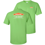 Franchise Personalized Lime T-shirt - 72 pc Minimum