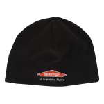 Personalized Black Fleece Beanie