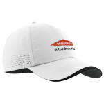 Personalized Nike Preforated White Cap