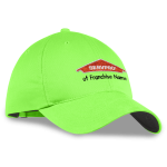 Personalized Nike Twill Green Cap