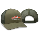 Franchise Personalized Forest Green Mesh Back Cap