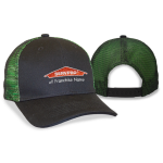 Franchise Personalized Two-Tone Mesh Back Cap Black/Lime Shock