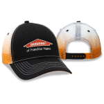 Franchise Personalized Orange Fade Mesh Cap
