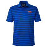 Personalized Under Armour Tech Stripe Royal Polo