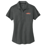 Women's Personalized Nike Anthracite Crosshatch Polo