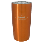 Personalized 20 oz. Stainless Steel Tumbler - Orange