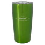 Personalized 20 oz. Stainless Steel Tumbler - Lime