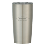 Personalized 20 oz. Stainless Steel Tumbler - Silver