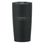 Personalized 20 oz. Stainless Steel Tumbler - Black