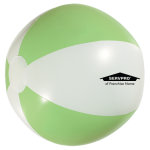 "Personalized 16"" Beach Ball - Lime"