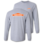 SERVPRO® Approved Sport Grey Long Sleeve T-Shirt